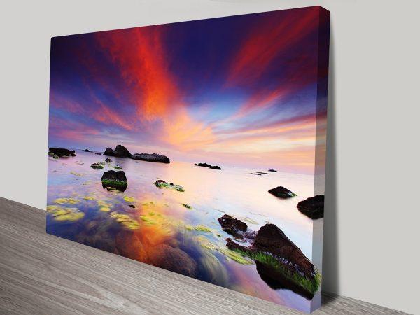 Perfect Sunrise Canvas Wall Print