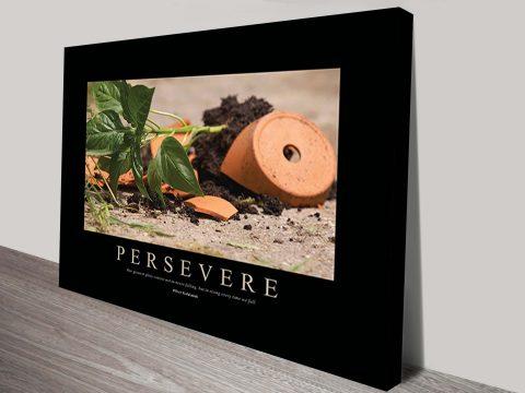 Persevere Motivational Art