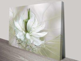 Petalled Intricate floral artwork