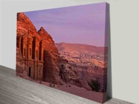 Petra Art Print on Canvas