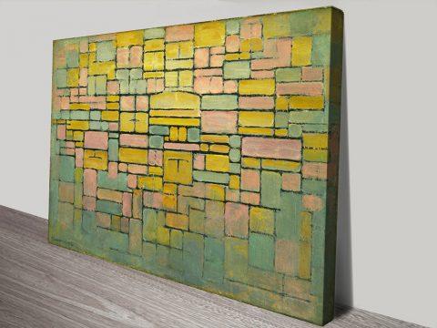 Piet Mondrian Tableau no 2 Composition no V canvas print