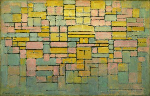 Piet Mondrian Tableau No.2 Composition V Wall Art Prints Online Australia