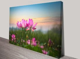 Pink Vigil Flowers Artwork