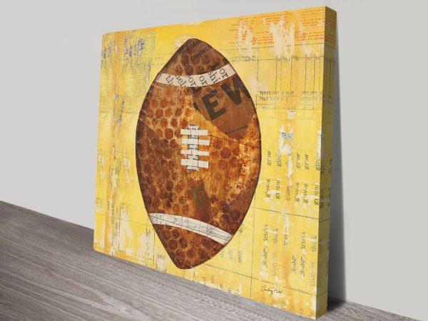 Play Ball II, Art Print on Canvas