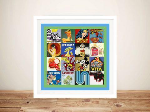 Pop Art Framed Wall Prints
