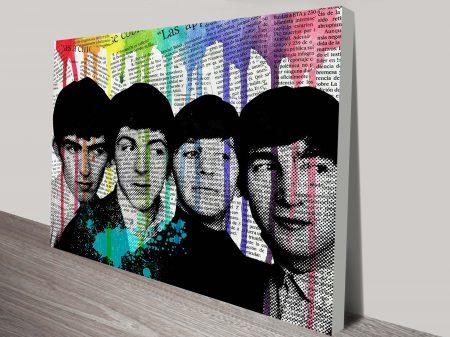 Pop Art Beatles Wall canvas