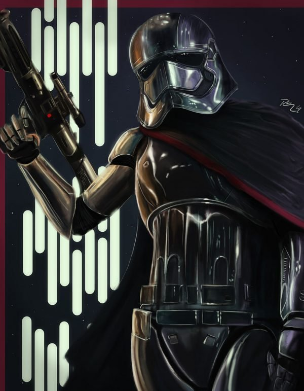 Portrait of the First Order Canvas Art