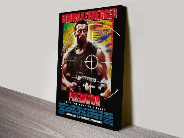 Predator Movie Poster Canvas Print