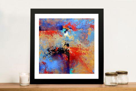 Presence Abstract Framed Wall Art