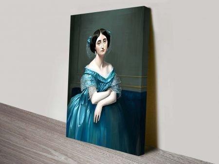 Princesse Albert de Broglie Canvas Art Print Vintage Poster Prints Australia Online