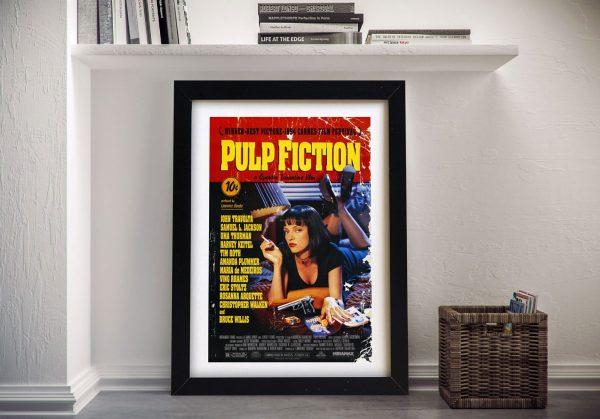 Pulp Fiction Framed Wall Art