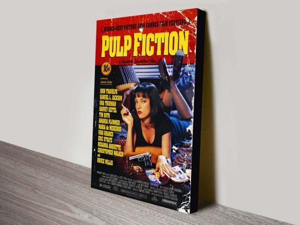 Pulp Fiction Movie Poster Canvas Print