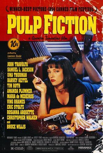 Pulp Fiction Artwork Brisbane