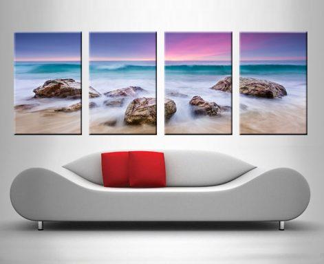 Buy a Purple Hued Sunset Art Gift Ideas AU