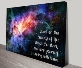 Inspirational QUOTES on canvas art