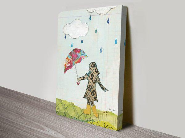 Rain and Wind IV Canvas Print Arts Online