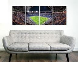 Real Madrid Santiago Bernabeu Stadium 4 Panel