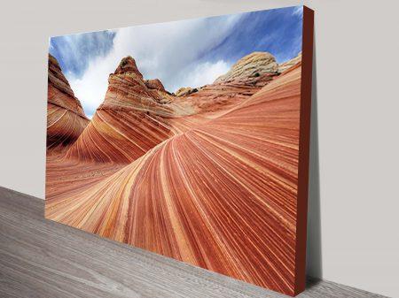 Red Rocks Canvas Art Print