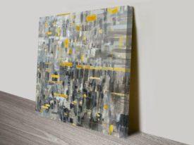 Reflections Square Print Art Canvas