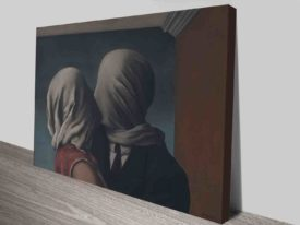 Rene Magritte The Lovers Wall Art Print