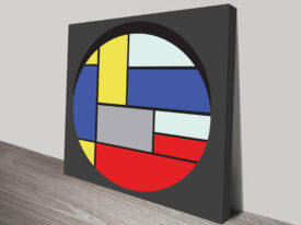 Vintage Retro Geometric Wall Art