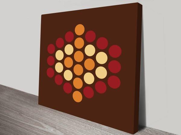 Retro Geometric Art Prints