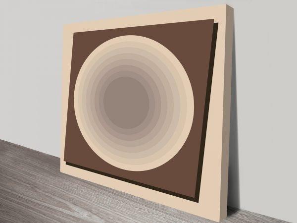 Retro Geometric Art Tasmania