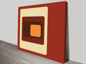 Retro Geometric Art Online