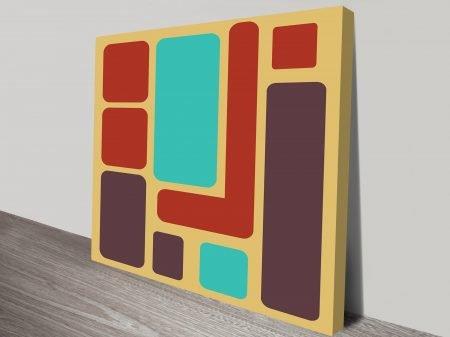Retro Geometric Art patterns art