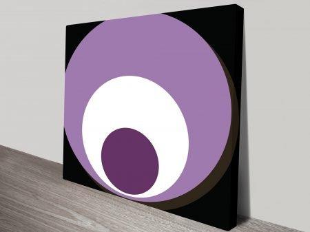 Retro Geometric Canvas prints