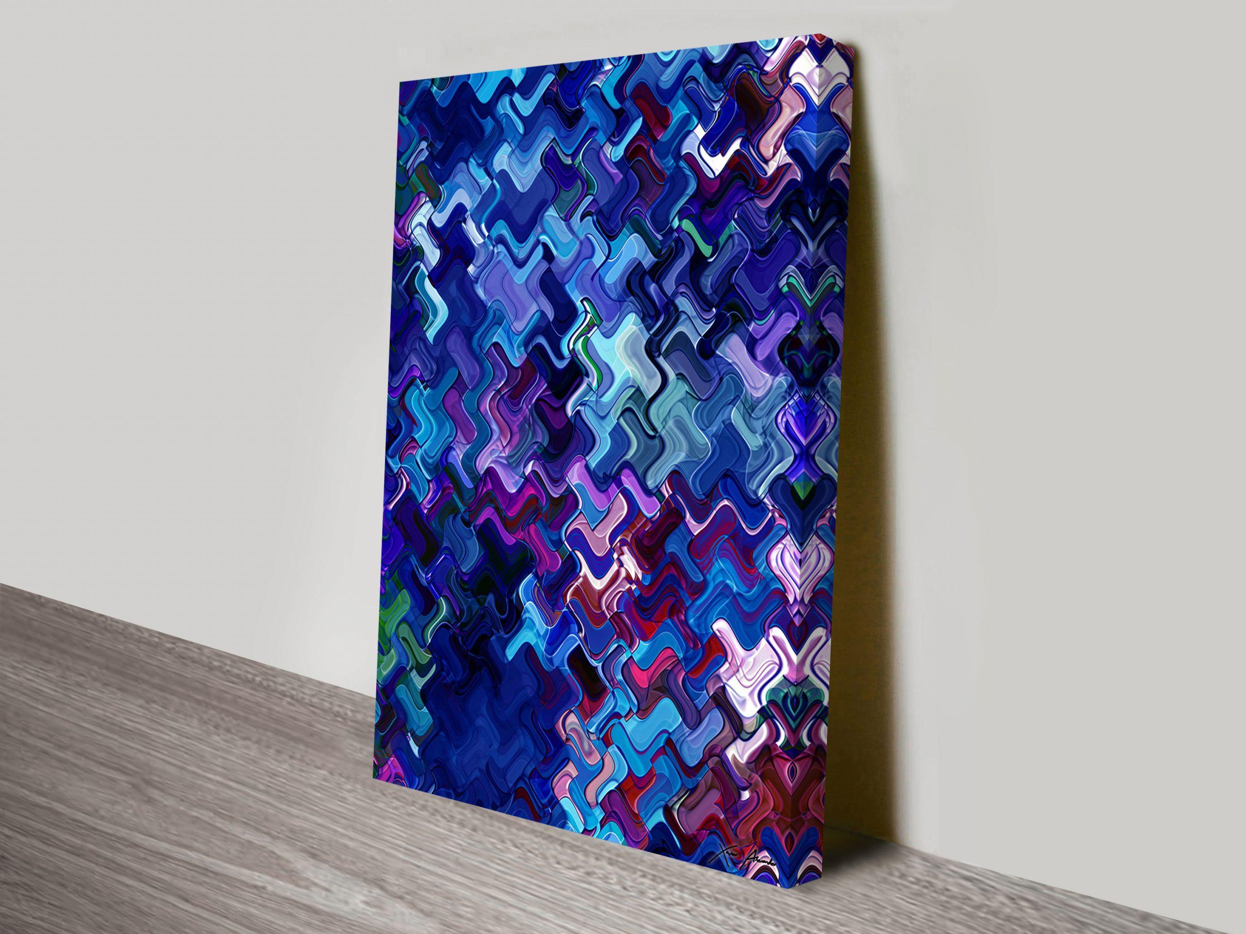 Retrospective Hedonism abstract Wall Art
