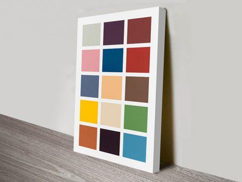 Gerhard Richter Fifteen Colours Art Print