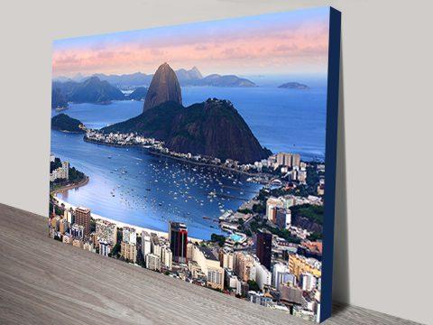 rio de janeiro brazil canvas art print