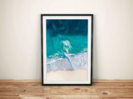 Riptide Aerial Photo Framed Wall Art Prints