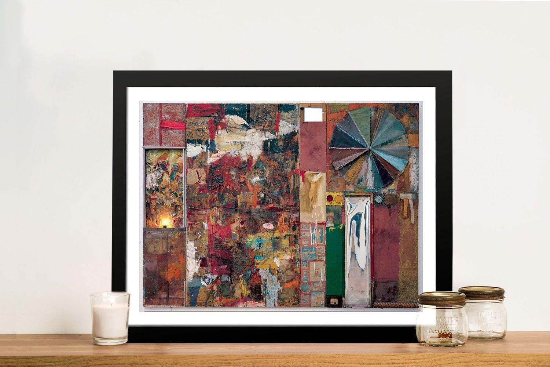 Robert rauschenberg charlene framed wall art