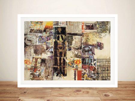 Buy Mirthday Man Robert Rauschenberg Framed Wall Art Pictures