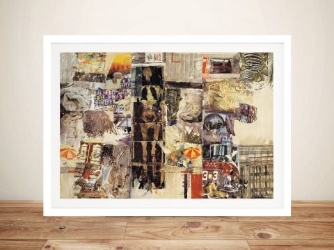 Buy Mirthday Man Robert Rauschenberg Framed Wall Art Pictures