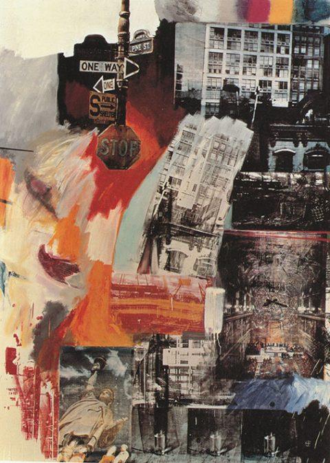 Robert Rauschenberg Estate Canvas Artwork Au