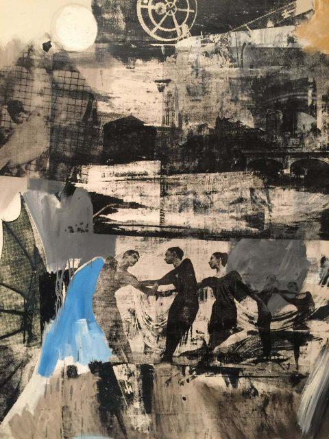 Scanning Robert Rauschenberg Framed Wall Art Picture Home Decoration Artwork