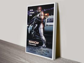 Robo Cop Movie Poster Canvas Print