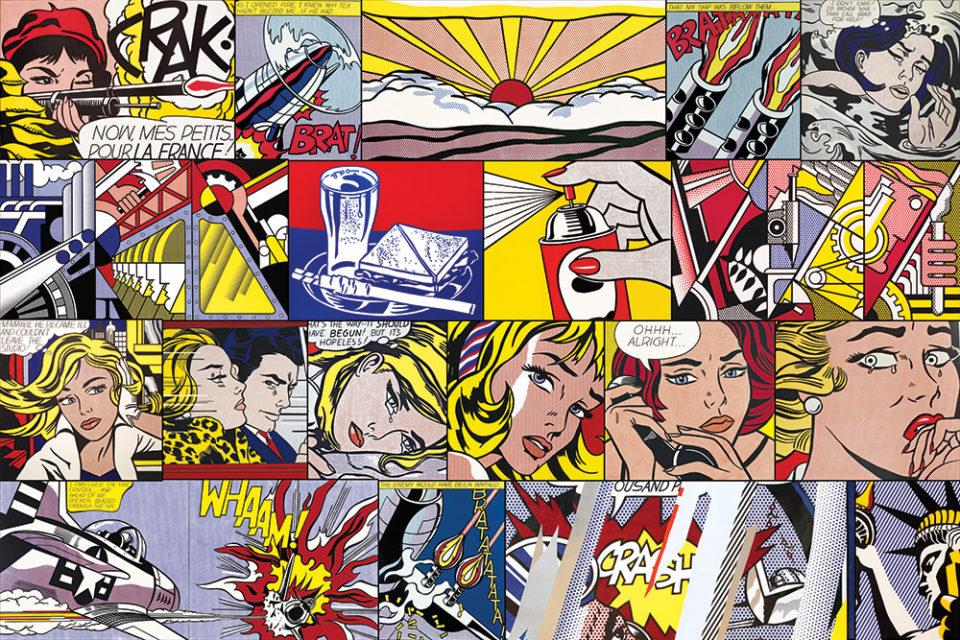 Roy Lichtenstein canvas prints online