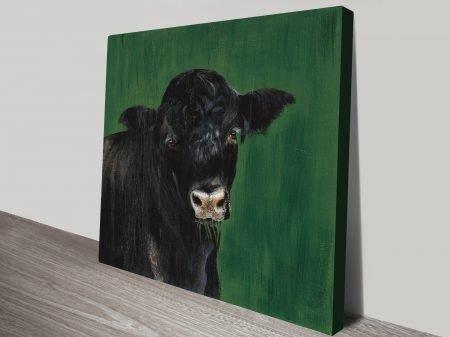 Farm Team Cow Best Canvas Prints