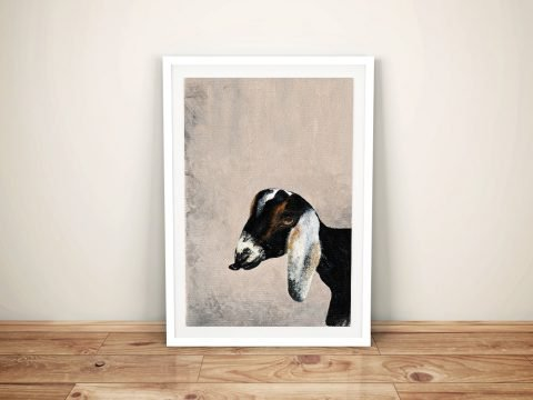Billy Goat by Patsy Ducklow Online Canvas Wall