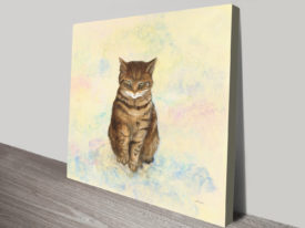 Rosie The Cat Canvas Print Gift Ideas