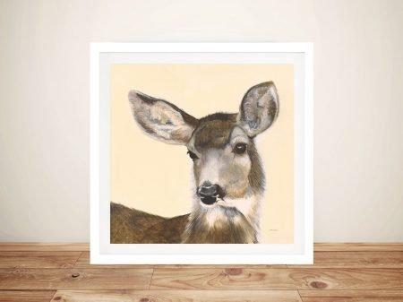 Woodland Critter - Deer II Buy Canvas Art Online