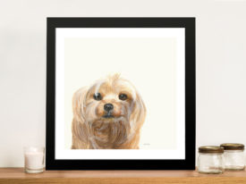 Little Scruff Gizmo Cheap Canvas Wall Art