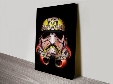 Painted Stormtrooper 2 Star Wars Art