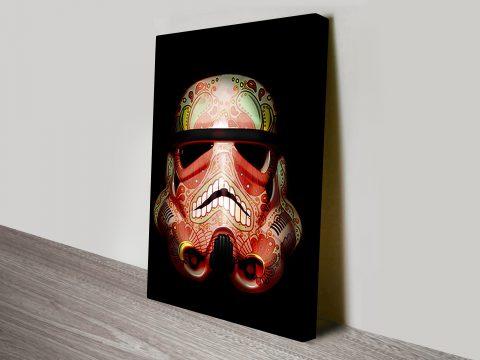 painted Stormtrooper 3 Star Wars Art