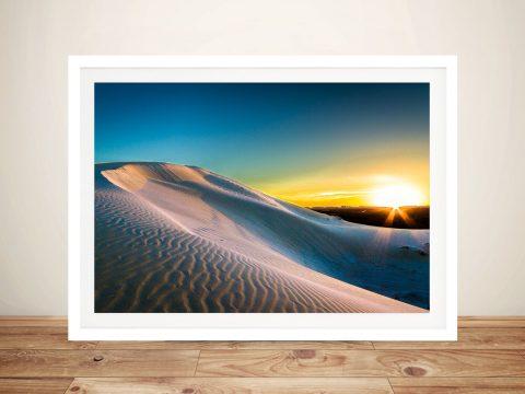 Wreck Beach Sand Dunes Wall Art Print