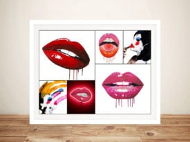 Sara Pope Collage Pop Art Wall Print